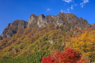 妙義山の紅葉の写真素材 [FYI04733380]