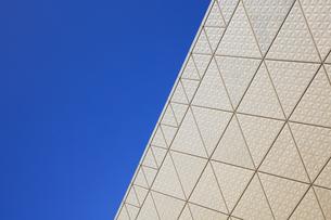 東京ビッグサイトの外壁の写真素材 [FYI04733407]