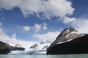 パタゴニアのスペガッツィーニ氷河 アルゼンチンの写真素材 [FYI04734313]
