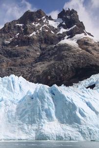 パタゴニアのスペガッツィーニ氷河 アルゼンチンの写真素材 [FYI04734315]