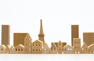 建造物のミニチュア模型の写真素材 [FYI04735384]