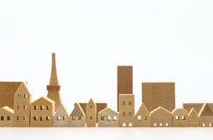 建造物のミニチュア模型の写真素材 [FYI04735385]