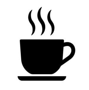 カフェのアイコン ピクトグラムのイラスト素材 [FYI04735775]