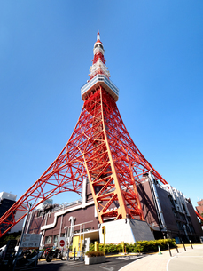 東京タワーの写真素材 [FYI04735950]