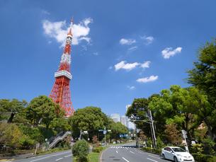 東京タワーの写真素材 [FYI04736168]