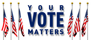 YOUR VOTE MATTERSのイラスト素材 [FYI04736384]