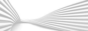 ねじれた積層の白いバックグラウンドのイラスト素材 [FYI04736390]