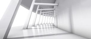 白い回廊のバックグラウンドのイラスト素材 [FYI04736395]