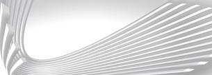 抽象的な球体を輪切りにした白いバックグラウンドのイラスト素材 [FYI04736397]
