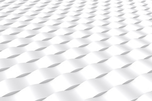 象的な波の白いバックグラウンドのイラスト素材 [FYI04736403]