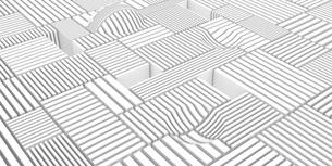 抽象的な格子の白いバックグラウンドのイラスト素材 [FYI04736405]