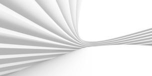 抽象的な縞模様の白いバックグラウンドのイラスト素材 [FYI04736407]
