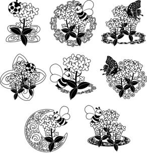 綺麗な菜の花のアイコンのイラスト素材 [FYI04736915]