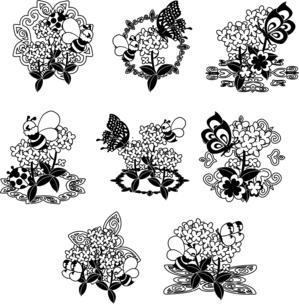 綺麗な菜の花のアイコンのイラスト素材 [FYI04736917]