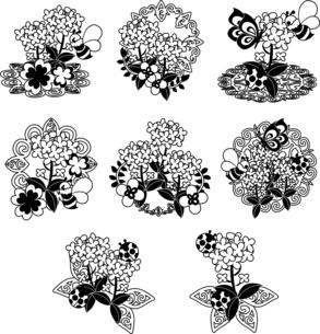 綺麗な菜の花のアイコンのイラスト素材 [FYI04736919]