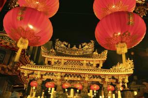 横浜中華街関帝廟の写真素材 [FYI04737407]