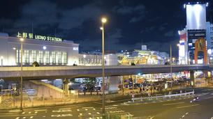 2020年夏上野駅夜景HDRの写真素材 [FYI04737495]