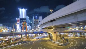 2020年夏上野駅夜景HDRの写真素材 [FYI04737496]