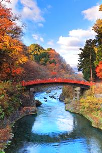 世界文化遺産 日光二荒山神社の神橋の写真素材 [FYI04737552]