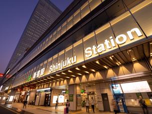 東京都 新宿駅甲州街道改札の写真素材 [FYI04737709]