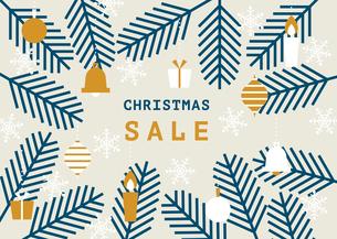 もみの木 クリスマス セール 販促のイラスト素材 [FYI04737826]