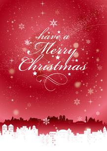 merry christmasのイラスト素材 [FYI04738095]