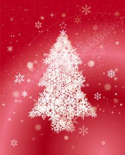 クリスマスツリーのイラスト素材 [FYI04738097]