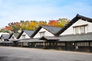 山居倉庫の秋の写真素材 [FYI04738412]