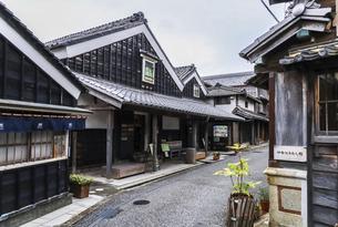 伊勢河崎の町並み風景の写真素材 [FYI04738452]