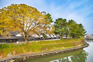山居倉庫の秋の写真素材 [FYI04738468]