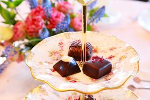 デザートのチョコレートの写真素材 [FYI04738510]