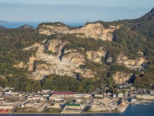 【香川県 高松市】庵治石の採石場の写真素材 [FYI04738656]
