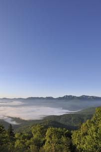 雲海と石狩岳(北海道・大雪山)の写真素材 [FYI04738743]