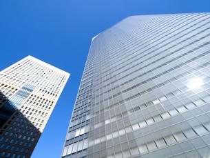 東京都 汐留の高層ビル街の写真素材 [FYI04738980]