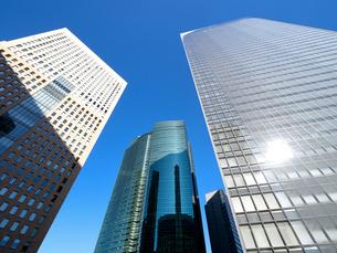 東京都 汐留の高層ビル街の写真素材 [FYI04738991]