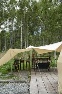 キャンプ場の写真素材 [FYI04739428]
