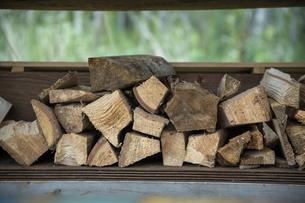 薪の写真素材 [FYI04739432]