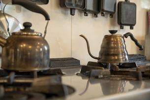 共同キッチンの写真素材 [FYI04739436]