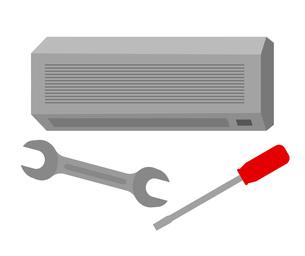 エアコン修理のイラスト素材 [FYI04739584]