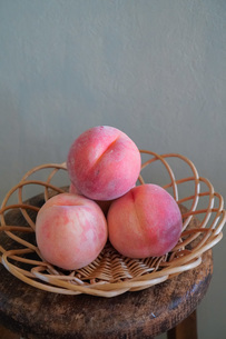 北海道産の桃の写真素材 [FYI04739746]