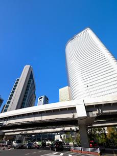 東京都 汐留の高層ビル街の写真素材 [FYI04739829]