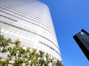 東京都 汐留の高層ビル街の写真素材 [FYI04739843]