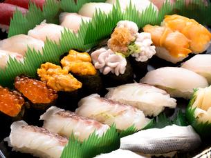 にぎり寿司の写真素材 [FYI04740090]