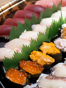 にぎり寿司の写真素材 [FYI04740099]