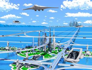 新海洋未来都市2のイラスト素材 [FYI04740291]