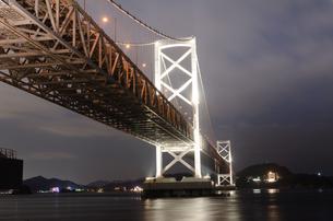 鳴門大橋の写真素材 [FYI04740375]