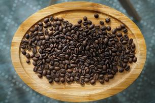 コーヒー豆の写真素材 [FYI04740451]