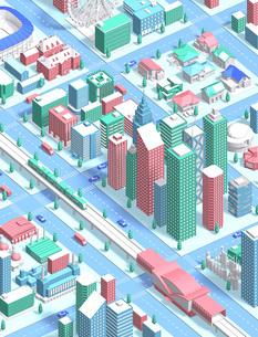 isometric city newのイラスト素材 [FYI04740602]