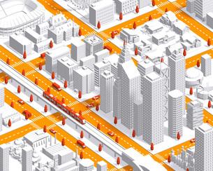 city isometric newwhite2のイラスト素材 [FYI04740606]