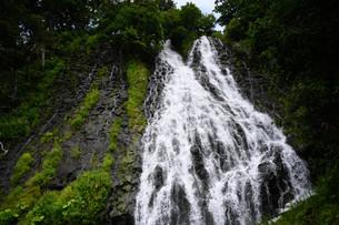 知床、オシンコシンの滝の写真素材 [FYI04740799]